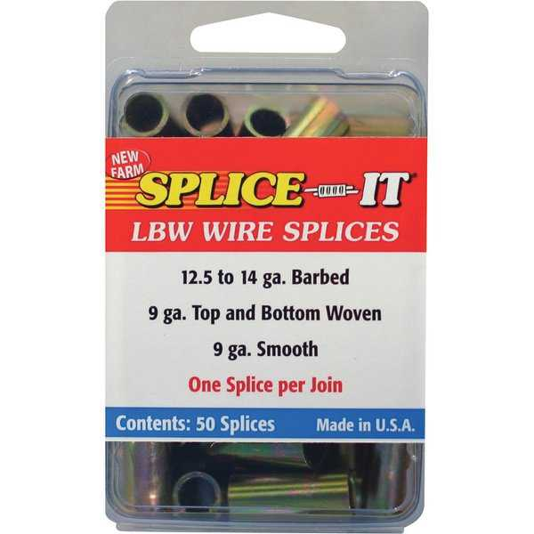 New Farm LBW1 Fence Wire Splice-IT, 100/Pack
