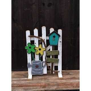 Spring Garden Fence Decoration