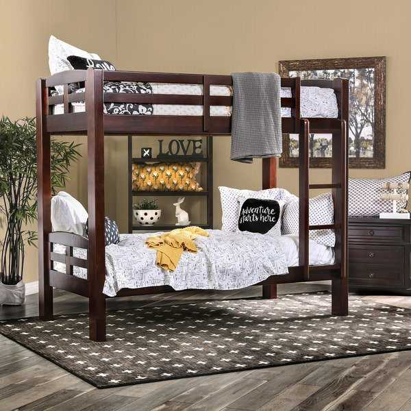 Utaria Transitional Twin over Twin Bunk Bed by FOA