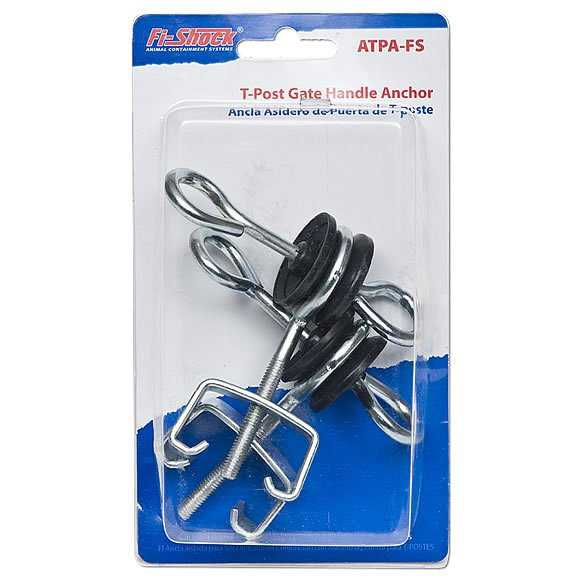 Fi-Shock ATPA-FS T-Post Gate Handle Anchor